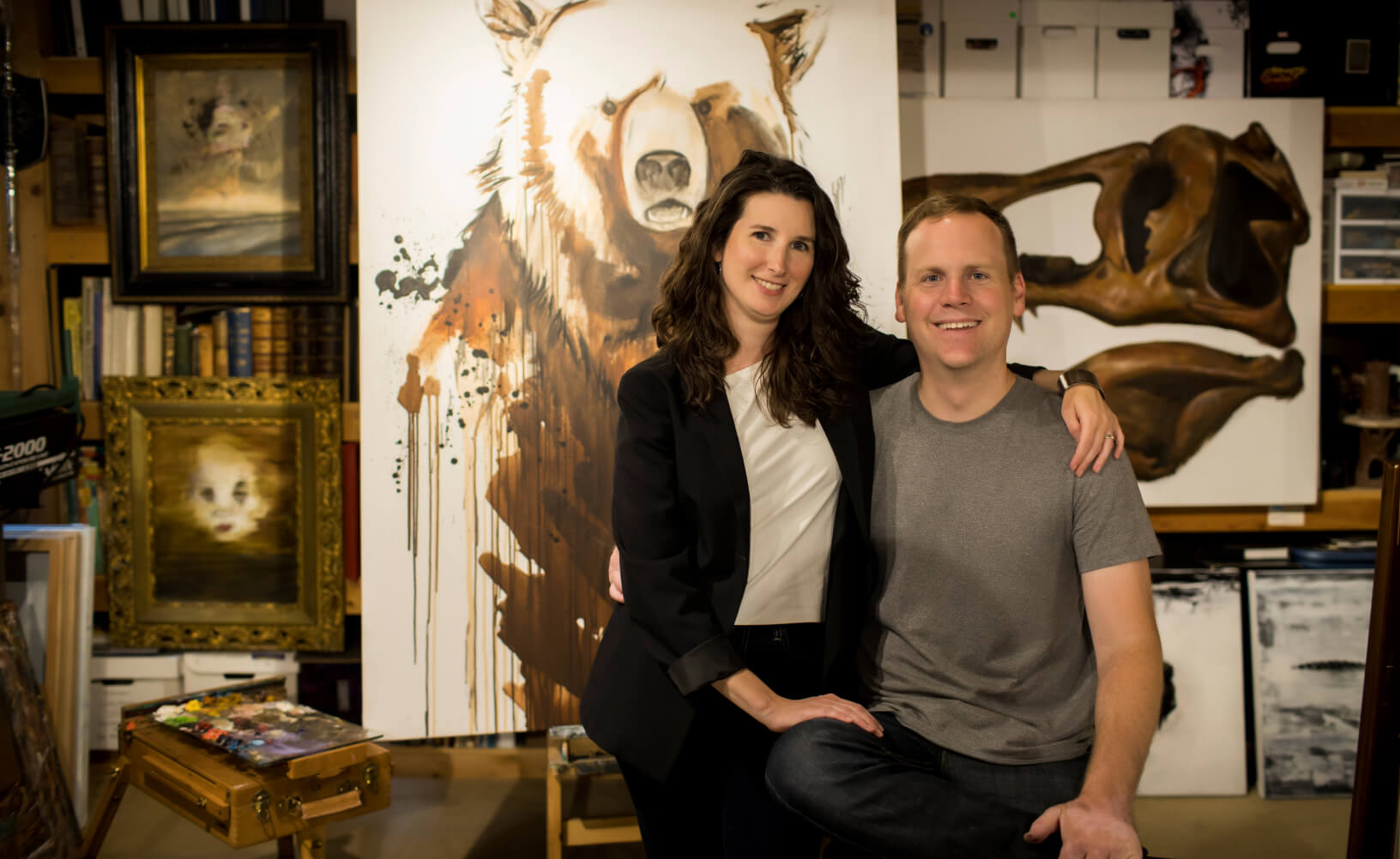 Cristy Fernandez and Kevin Eslinger of Lucky Onion
