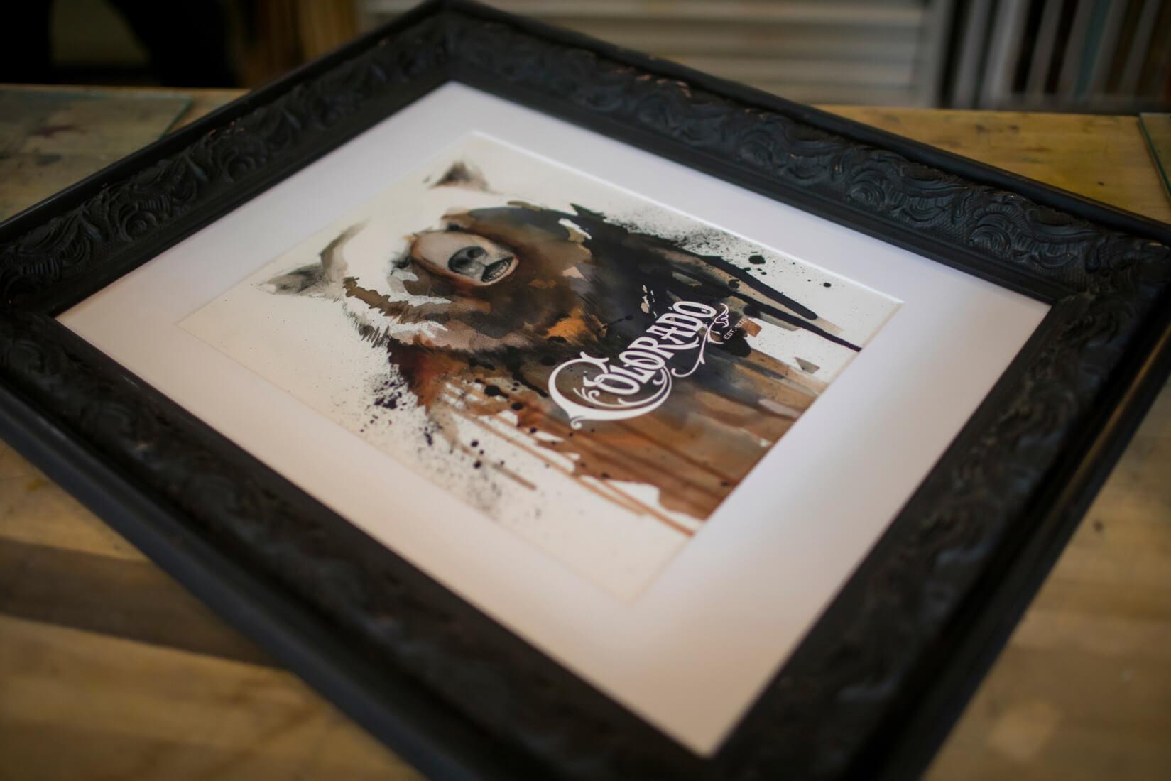 Final framed print