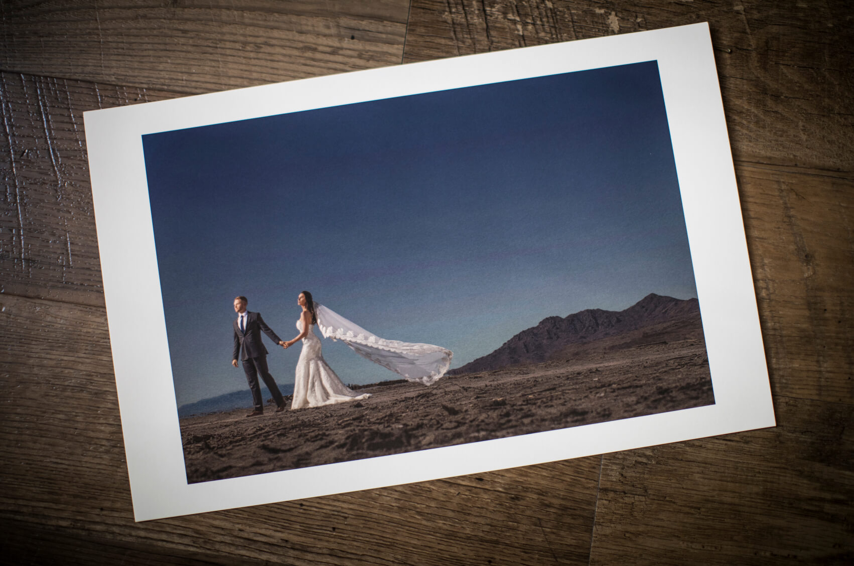 Final image printed on Canon paper