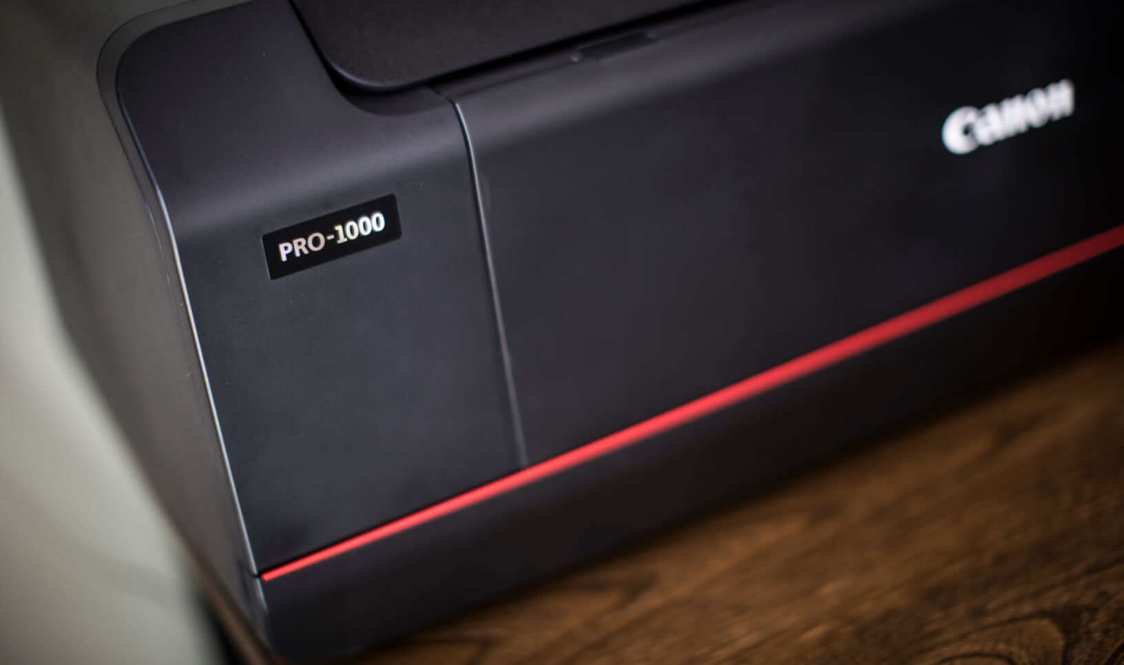 Close-up of the Canon imagePROGRAF PRO-1000 Printer