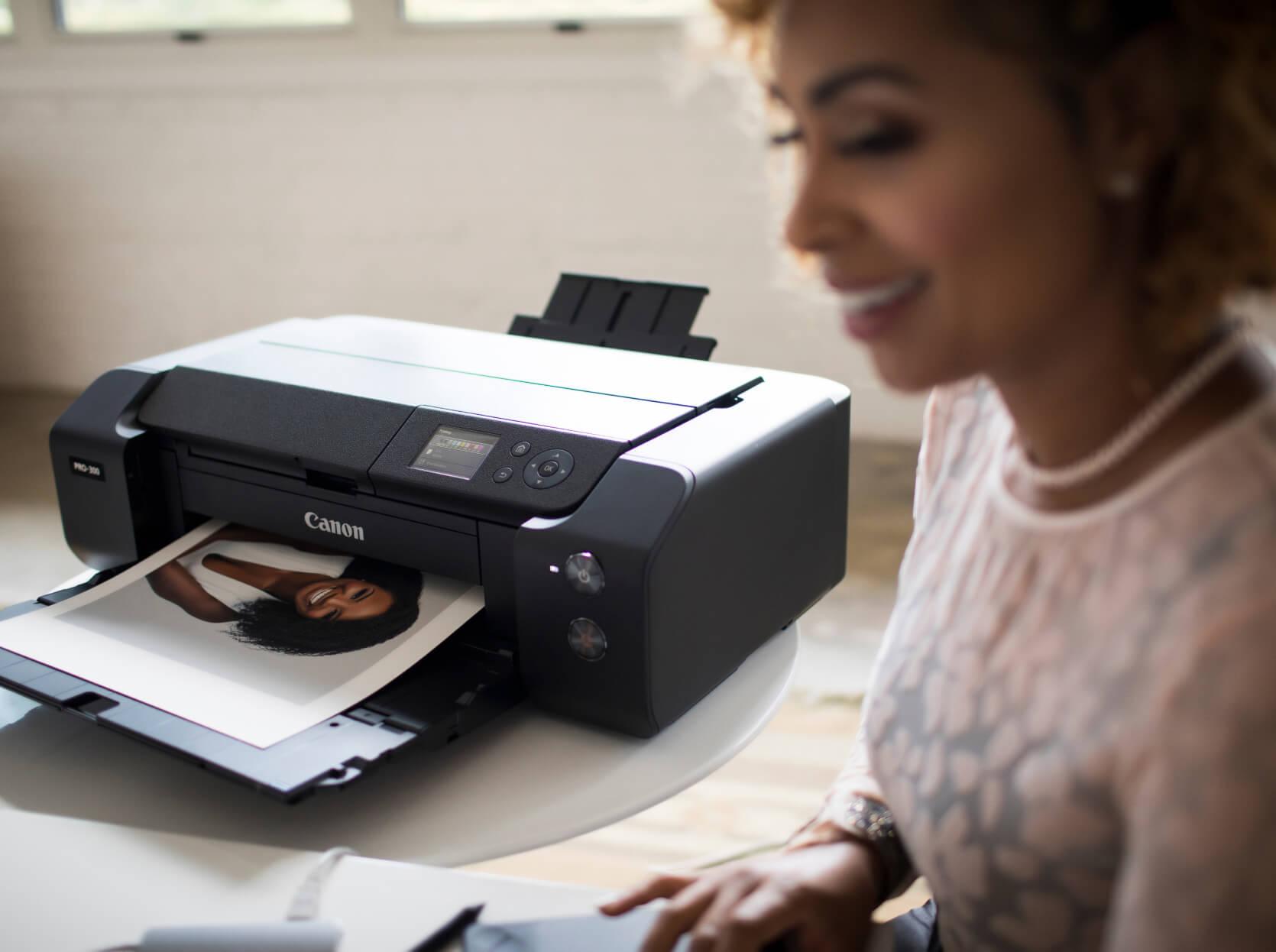 Zsa'nee Gaines printing